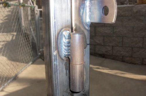 Как правильно приварить петли на ворота