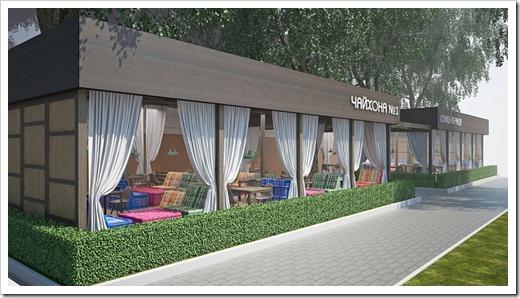 Этапы строительства ресторана