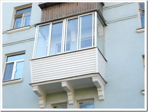 Высокоэффективный монтаж балконов