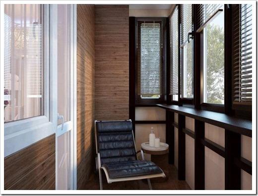 Отделка балкона под ключ и его отопление