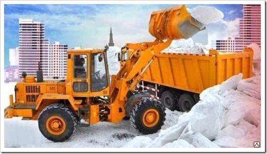 Приблизительная стоимость вывоза снега