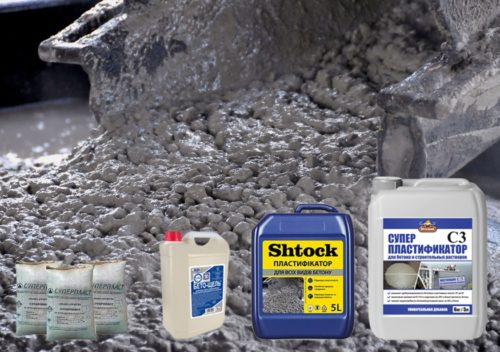 Какие добавки добавляют в бетон