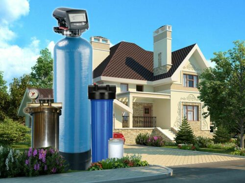 Виды систем очистки воды для коттеджей
