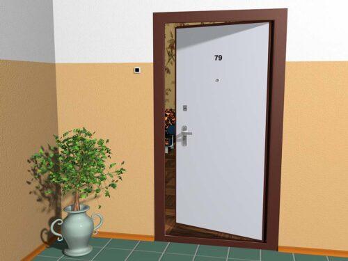 Что такое входная дверь внутреннего открывания