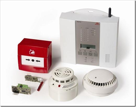 Системы защиты при пожаре