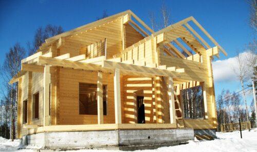 Как строить дома из клееного бруса