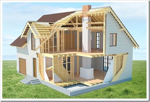 В чём преимущества каркасного строительства?