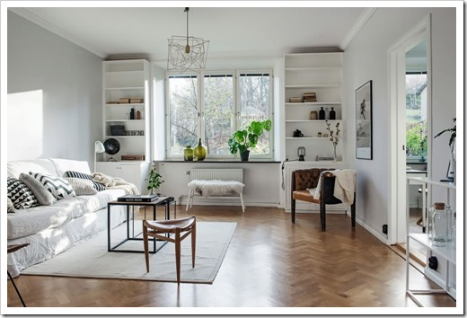 Чем выделяется мебель в скандинавском стиле?