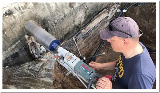 Процедура алмазного бурения бетона: как она есть
