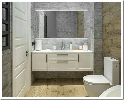 Основные разновидности меблировки для ванной