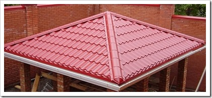 Шатровая крыша своими руками — от расчетов до монтажа
