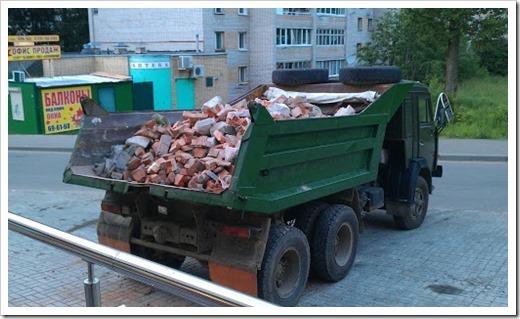 Практика по утилизации отходов после ремонтных/строительных работ