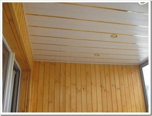 Лучшие материалы для отделки балкона