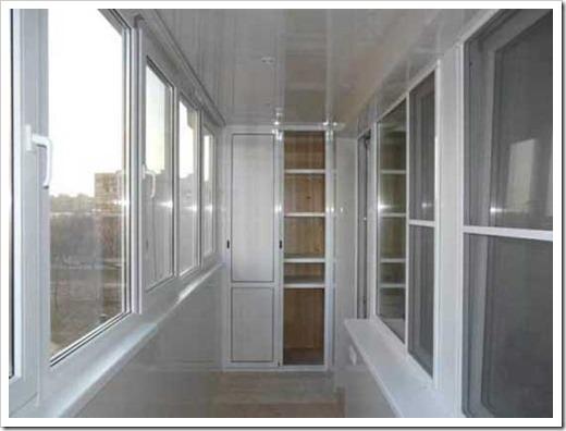 Сложности в отделке интерьера балкона